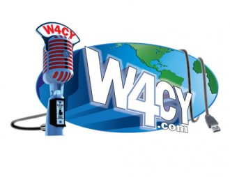 W4CY Radio / The Intertainment Network Logo