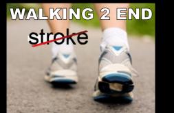 Walking 2 End Stroke Inc Logo