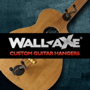 Wall-Axe Custom Guitar Hangers Logo
