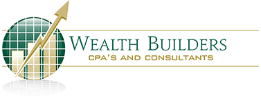 Wealth Builders CPA's & Consultants Logo