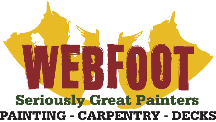 Webfoot Painting Co Logo