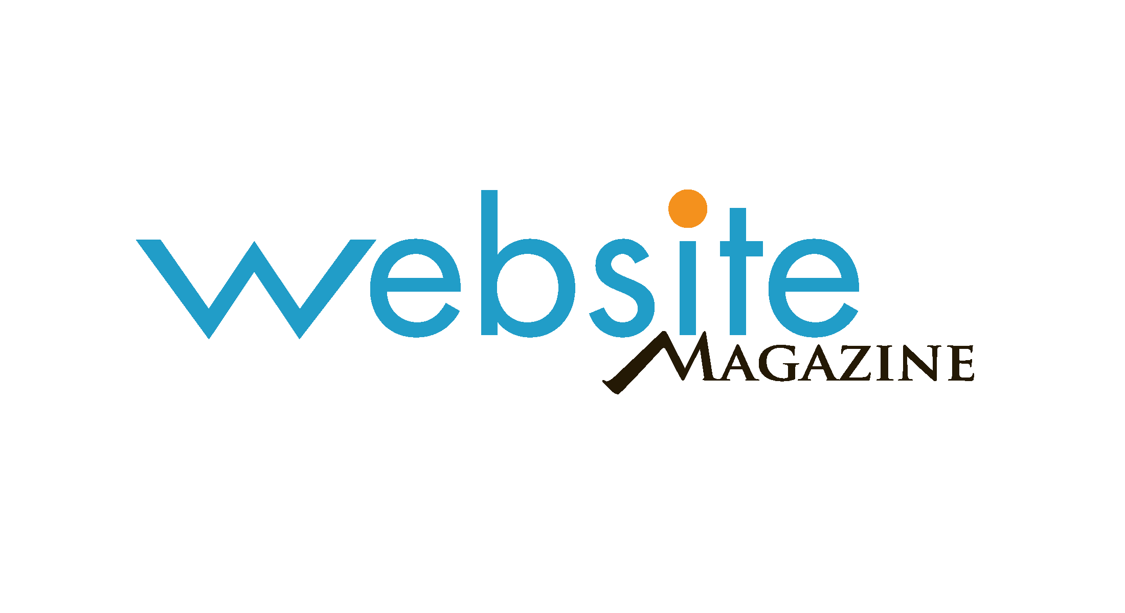 Website Magazine - Online & Print Logo