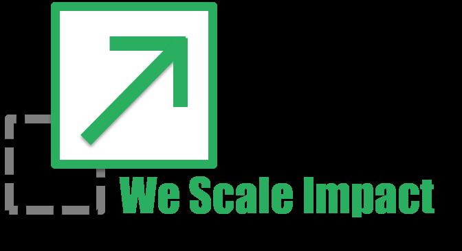 We Scale Impact Logo