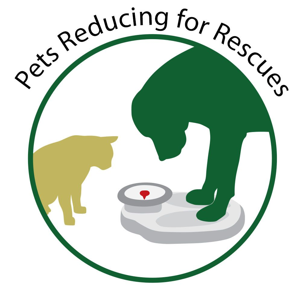 Pets Reducing for Rescues Weight Management Programs Logo