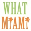 What Miami Logo