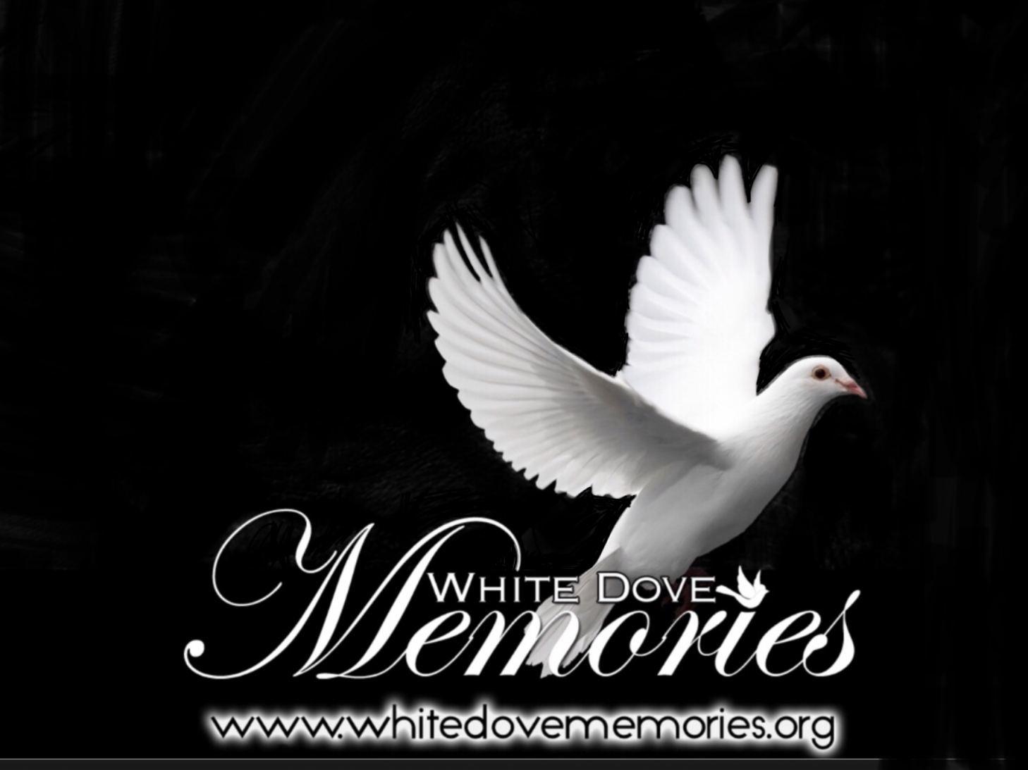White Dove Memories Tennessee Logo