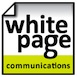white page communications Logo