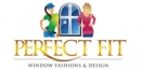 Perfect Fit Window Fashions & Design Logo