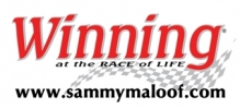 Winning at the Race of Life Logo