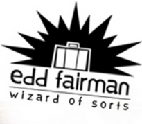 Edd Fairman, Wizard of Sorts Logo
