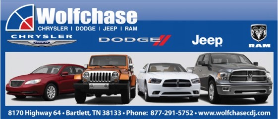 Wolfchase Chrysler Dodge Jeep Ram SRT Logo