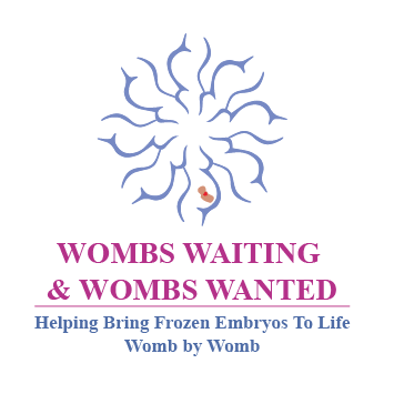 Wombs Waiting and Wombs Wanted Logo