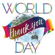 World Thank You Day Logo