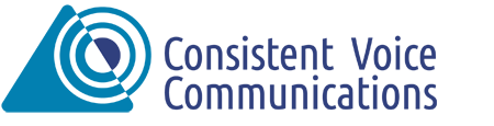 Consistent Voice Communications Logo